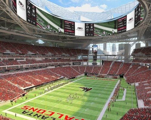 mercedes benz stadium home